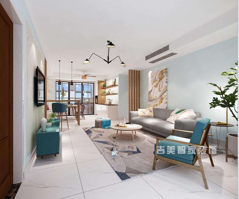 泰安华清园-现代-客厅