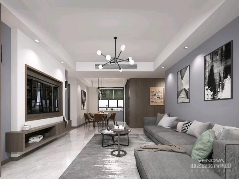 现代风格卧室的色彩设计受现代绘画流派思潮影响很大。通过强调原色之间的对比协调来追求一种具有普遍意义的永恒。装饰画、织物的选择对于整个色彩效果也起到点明主题的作用。