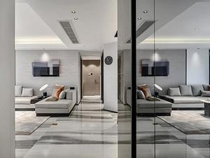 府东公馆126㎡现代轻奢公寓,华丽优雅,一眼就爱上!