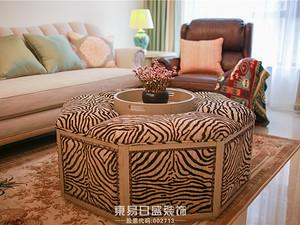 豪森丽都 93平美式轻奢两居室装修案例