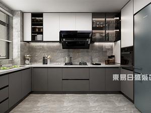 现代风格厨房装修效果图
