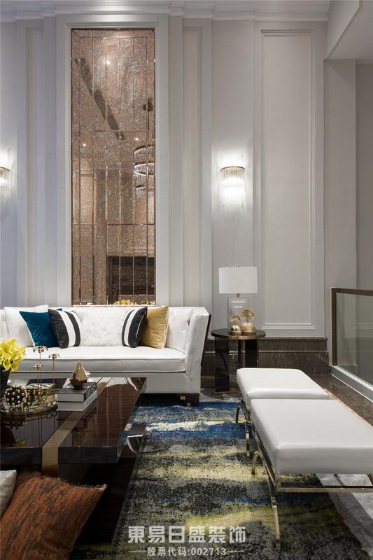 临沂装修装饰轻奢风格-客厅