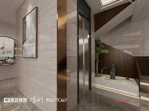 新中式风格走廊贝博官网登录效果图