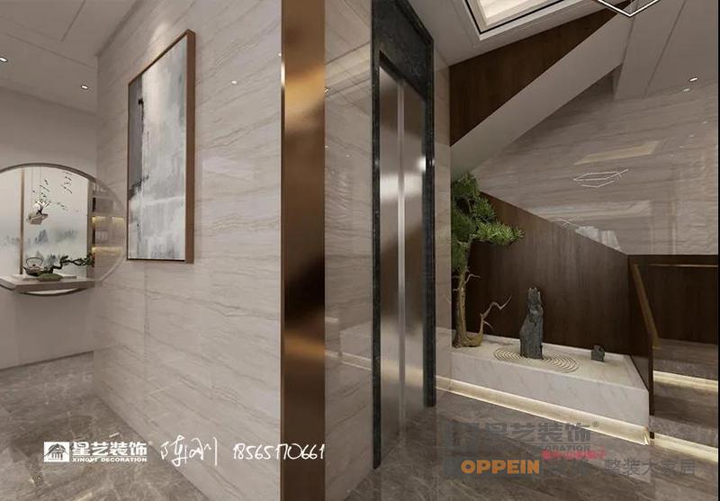 贝博手机app山和院子480㎡别墅新中式贝博官网登录