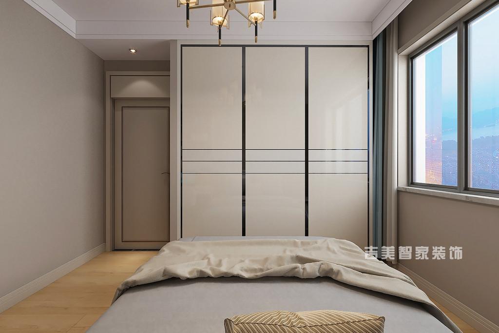 泰安御蓝山-现代轻奢-卧室
