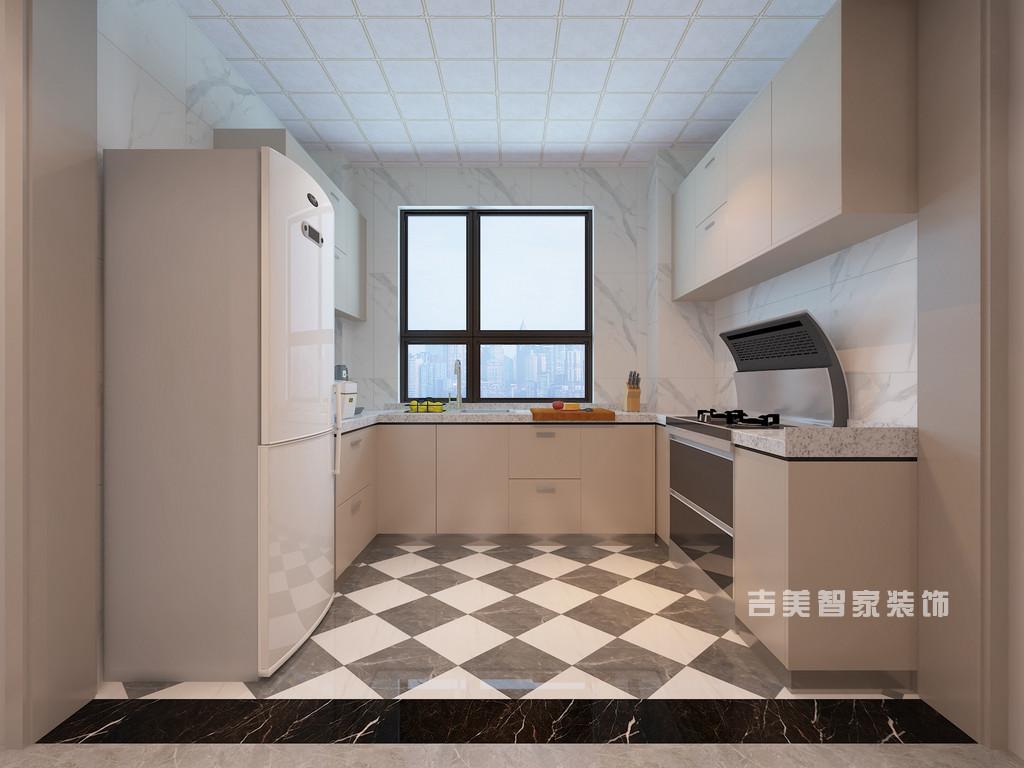 泰安御蓝山-现代轻奢-厨房
