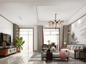 一品觀園-250平米別墅-新中式風格大宅設計案例賞析