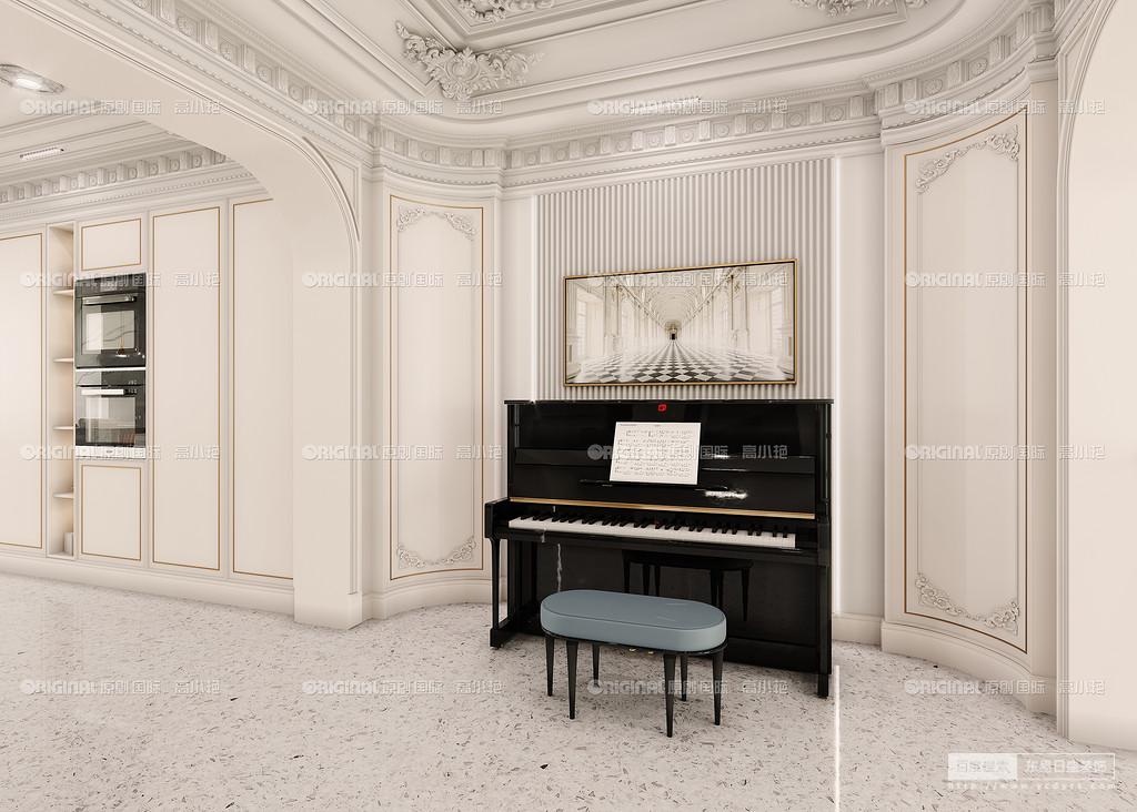 钢琴练习区