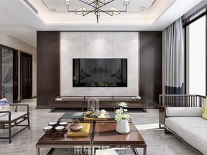 汀香郡-220平米洋房-新中式风格案例赏析