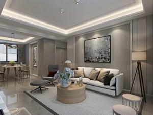 都市豪庭120平现代风格