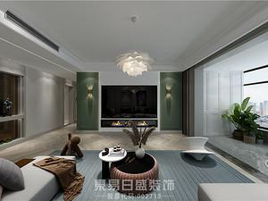 金水河畔-156平米四居室-現代輕奢風格案例
