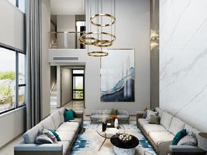 親和家源別墅500平現代風格裝修案例