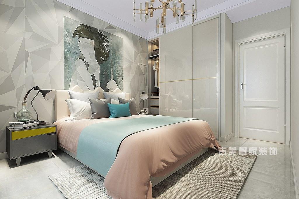 泰安泰景城-现代-卧室