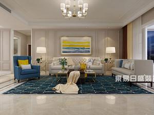 金都上城-平层190m²-现代美式风格案例赏析