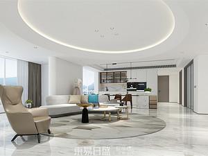 圣兰菲诺-280平米四居室-现代轻奢风格案例赏析