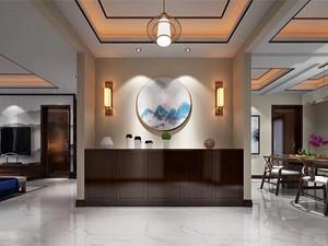 美式风格门厅装修效果图