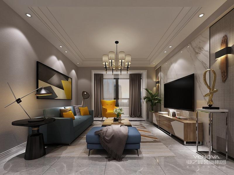本案巧用简约元素打造可持续的家居空间,以灵动开放的布局与智能生活的理念,在注重空间秩序与功能的同时,注入气韵,用安静自然的方式表达品质空间。