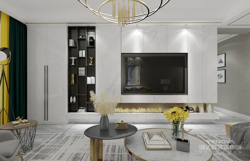 现代轻奢装饰风格的主要特征之一是装饰设计以高品质和简约为基础。