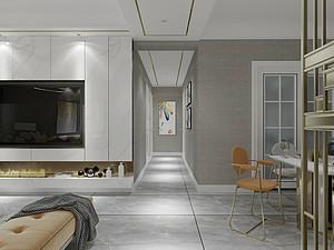 现代风格走廊装修效果图