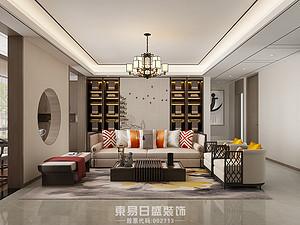 奥正诚园-四居室140平米-新中式风格赏析
