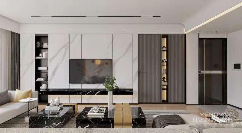 象牙白都是倾向于高雅调性的色彩,它们简约、时髦且富有轻奢气质,运用在家居设计中,可以在呈现温馨大气的格调之余,又牵引出浓浓的时尚高雅范儿。