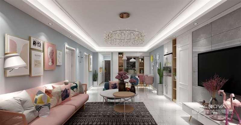 日式家居崇尚极简风格,木质和浅色家具的搭配,显得整个空间清新温暖,下班后回到这样的房间,紧绷了一天的神经都会软下来。