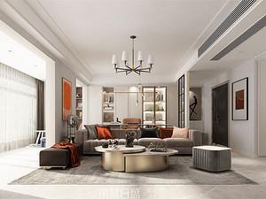 博觀新城-160平米三居室-現代簡約風格案例賞析