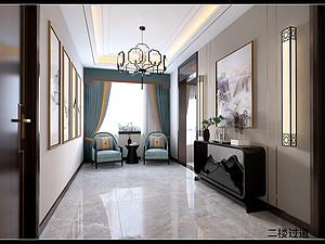 新古典风格休闲室装修效果图