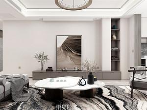 柳溪美芦-180平米三居室-新中式风格案例赏析