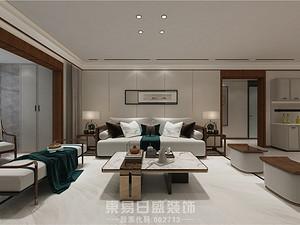 奧德海棠-124平米三居室-新中式風格案例