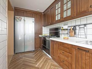 北欧风格厨房装修效果图