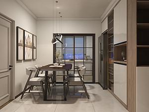 能源国际住宅小区-125㎡-新中式风格