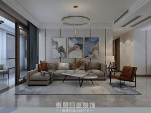 奧正誠園北區-170平米三居室-現代風格案例
