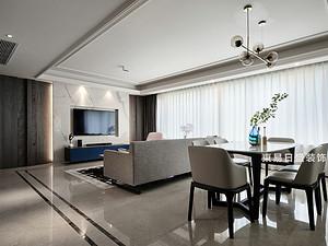 桂林萬達城三居室125㎡現代裝修風格