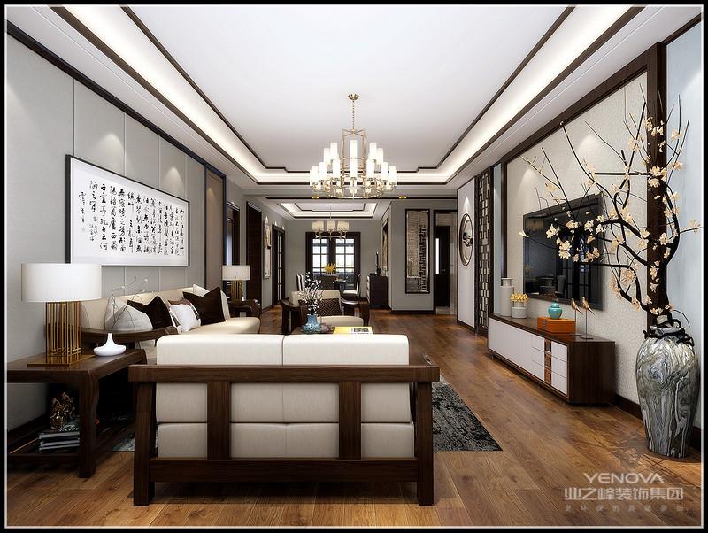 中式风格的设计融合了庄重和优雅双重气质,主要的特点是对称,简约等,中式风格都会比较对称的,一直以来都受到大家的喜爱,