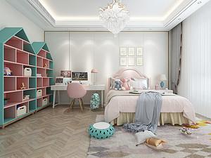 新中式風格臥室裝修效果圖