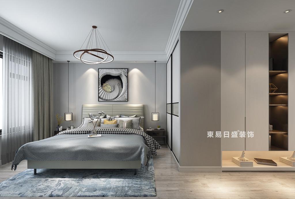 桂林四室三厅两卫157㎡现代风格:客卧室装修设计效果图