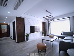 澜泊湾-160平米四居室-现代简约风格案例赏析