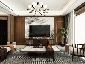 奧正誠園北區-151㎡三居室-新中式風格案例