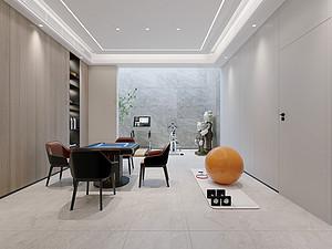 现代简约风格风格休闲室装修效果图