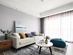 绿地塞纳公馆111㎡舒适北欧3室2厅效果图