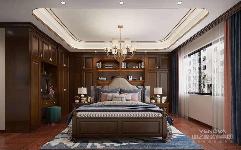 不同木材和不同部位的各色各样的稀有纹理,乃至树木生长期中由于病理变化产生的特殊纹理都是美式家具的爱