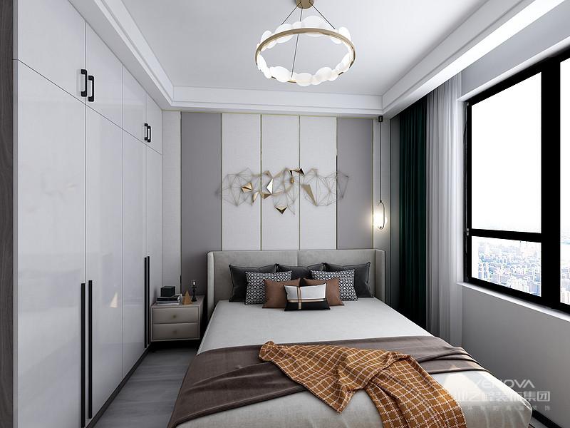 现代风格的居室重视个性和创造性的表现,即不主张追求高档豪华,而着力表现区别于其他住宅的东西。