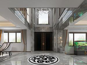 新中式风格风格客厅装修效果图