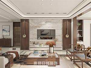 奧正誠園-復式160平米-新中式風格案例
