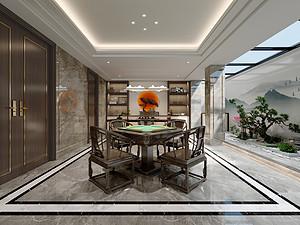 新中式风格风格休闲室装修效果图