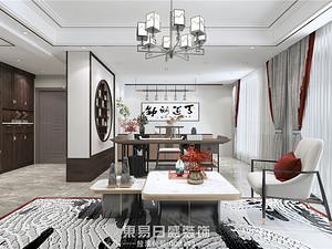 翰林国府-复式300平米-中式风格案例