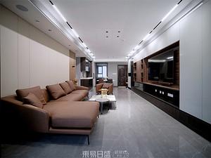 環球掌舵-160平米三居室-現代風格案例賞析