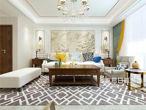 红盾花园-四居室150平米-欧式风格赏析