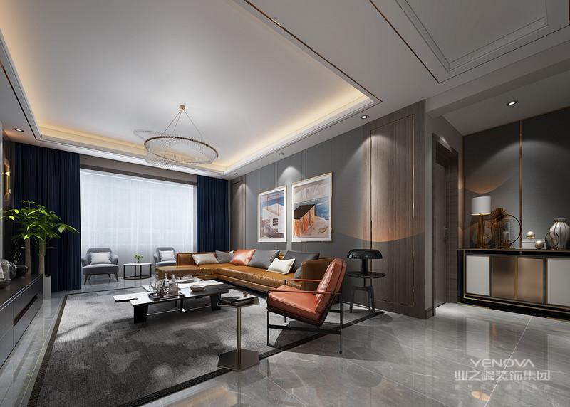 强调功能性设计,线条简约流畅,色彩对比强烈,这是现代风格家具的特点
